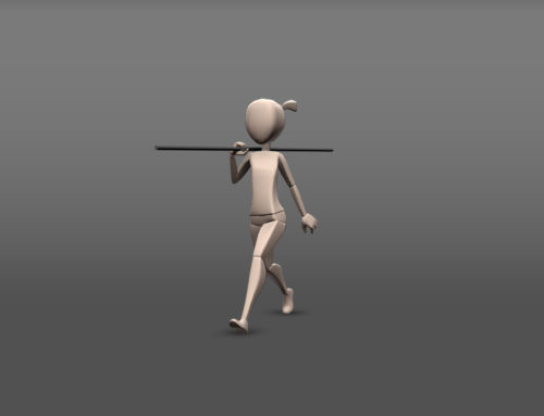 Walk, Run & Skip Animations